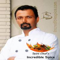 Spice Chef Sanjiz Mathews supports the use of local garlic in his flavourful Indian dishes.