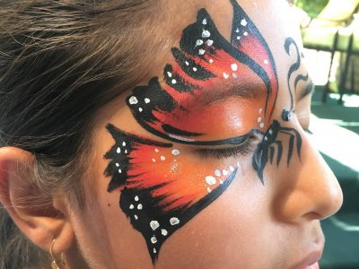 Face Painting -by Sara-2016