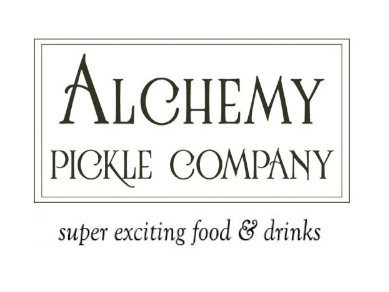 Alchemy pickle company logo 2025