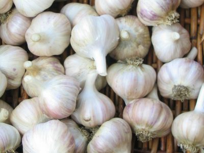Garlic Pantry uses Ontario garlic varieties to make everything from smoked garlic bulbs, to jellies, pestos, and spreads.